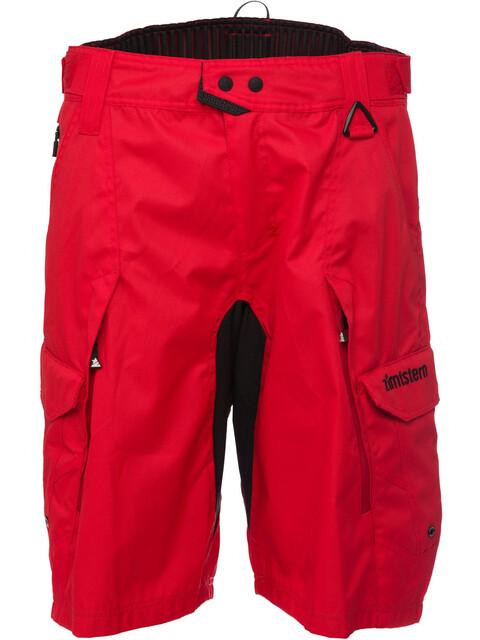 Zimtstern Tauruz Cykelbyxor Herr röd